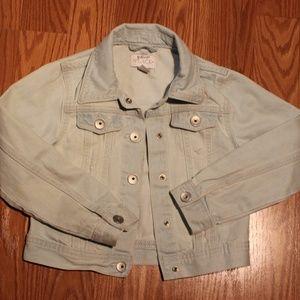 Girs size 5/6  jean jacket